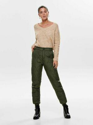 Skønne Quiltede bukser fra Only