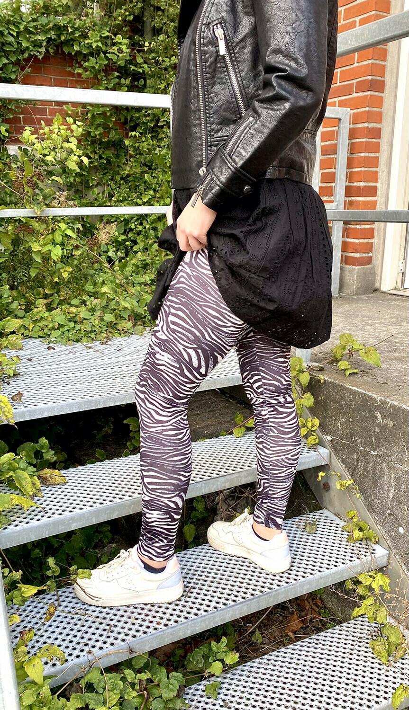 Leggings med cool print fra Culture