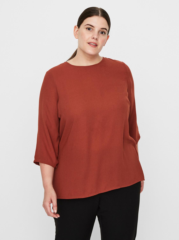 Skjorte m/plisse' fra Vero Moda