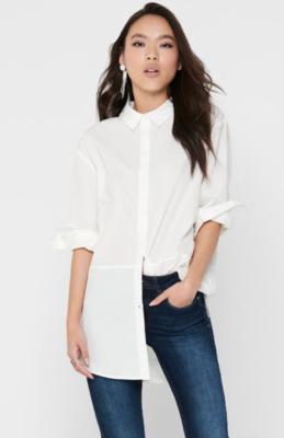 Lang oversize skjorte fra JDY