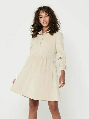 Fløjs kjole fra JDY