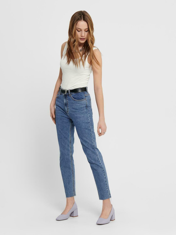 Regular Emily jeans fra Only