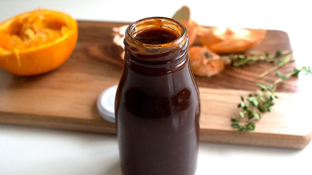Classic BBQ Sauce w/ a Citrus Kiss ~ 8oz jar