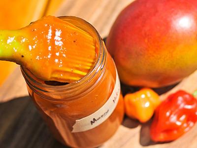 Organic Mango Habanero Chili Sauce ~ 5oz bottle