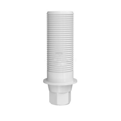 Абатмент NOBEL CONICAL CONNECTION пластиковый (из беззольной пластмассы) с винтом (3,0 мм; 3,5/3,75 мм; 4,3/5,0 мм) Код: 0250, 0251 (Нобель коническое соединение)