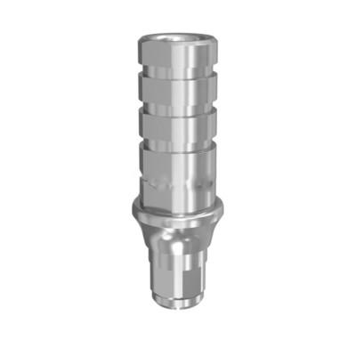 Временный абатмент NOBEL CONICAL CONNECTION с и без фиксации  с винтом (3,5 мм; 4,3/5,0 мм) (Нобель коническое соединение)