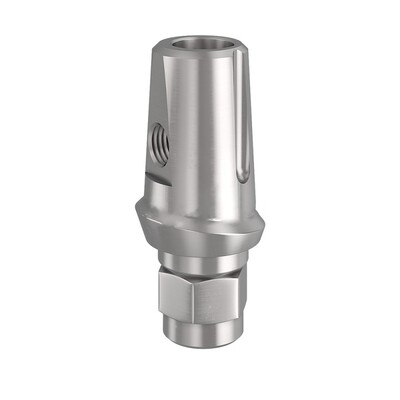 Абатменты XIVE, FRIADENT титановые прямые 3,4 мм (1мм); 3,8 мм (1мм); 4,5 мм (1мм); 5,5 мм (1мм); 3,4 мм (3мм); 3,8 мм (3мм); 4,5 мм (3мм); 5,5 мм (3мм)