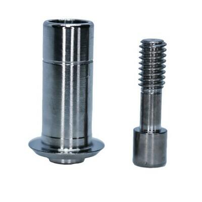 Титановые основания без фиксации с винтом, удлиненные (8мм), совместимы с ZIMMER, MIS, ADIN, ALPHABIO, BIOHORIZONS  (3,5/3,7 мм; 4,2/4,5 мм)  Код: 0286, 0288