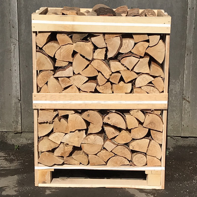 Mini Crate Kiln Dried Ash Logs
