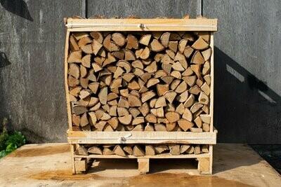 Large Crate of Kiln Dried Hardwood Premium Mixed Hardwood Logs