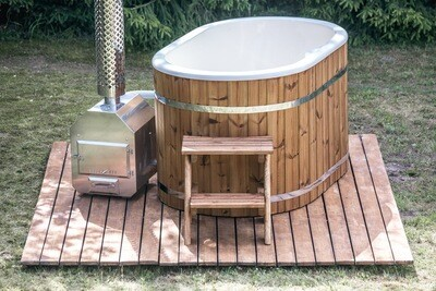 Deluxe Ofuro Wood Fired Hot tub