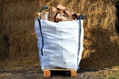 Kiln Dried Hardwood Mixed Logs - Bulk Bag