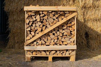 Standard Crate Kiln Dried Silver Birch Logs