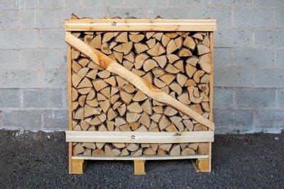 Standard Crate of Kiln Dried Birch and Oak Logs