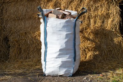 2 x Kiln Dried Hardwood Logs - Barrow Bag
