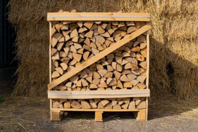 Large Crate Kiln Dried Ash Logs