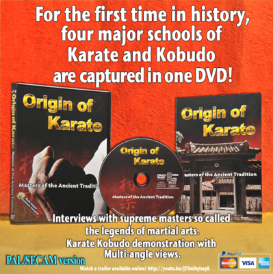 Origin of Karate(PAL/SECAM English)