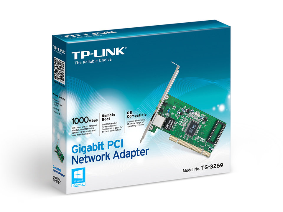 TP-LINK Gigabit PCI Network Adapter TG-3269