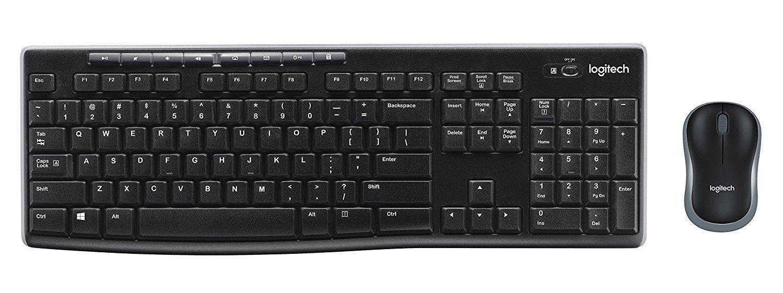 Logitech MK270 Wireless Keyboard & Mouse Combo