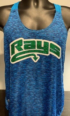 Rays Blue Dri Fit Tank Top