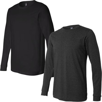 Long Sleeve T-shirt (Canvas-Fitted) : Team/Parent VA