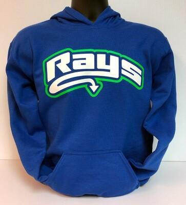 Rays Blue Hoodie