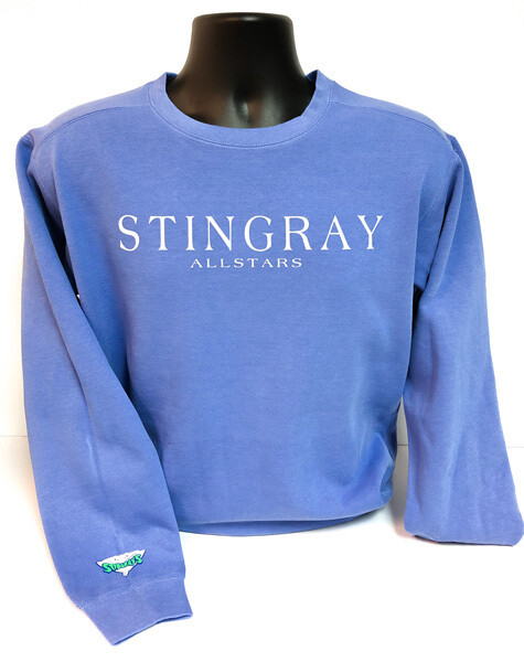 Stingrays Comfort Wash BLUE Sweatshirt