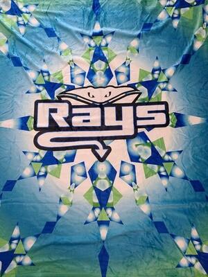 Rays Plush Blanket 50