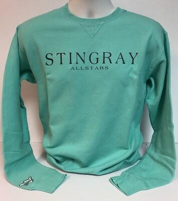 Stingrays Comfort Wash MINT Sweatshirt