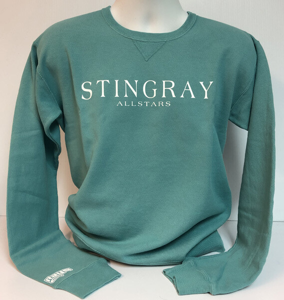 Stingrays Comfort Wash EVERGREEN Sweatshirt
