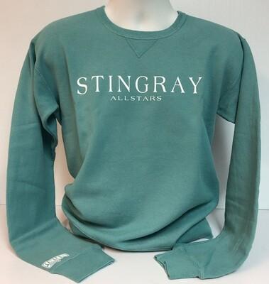 Stingrays Comfort Wash EVERGREEN Sweatshirt