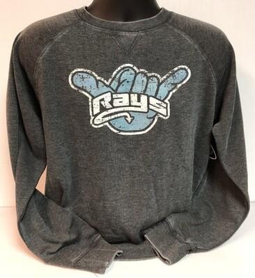 Rays Vintage GRAY Crewneck Sweatshirt