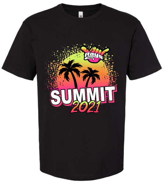 Crew Neck T-shirt (Next Level) Summit Parents/Fans