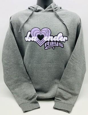 Lavender Rays Hoodie