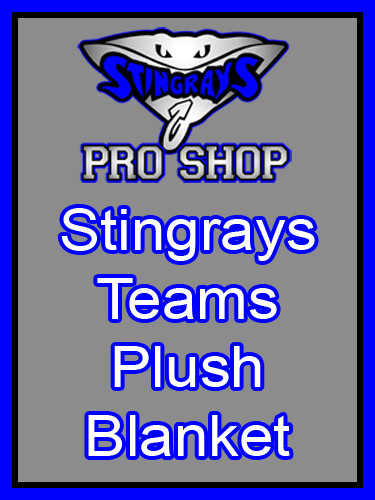 Virginia Stingrays Teams Plush Blanket 50