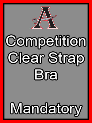 Competition Clear Strap Bra Mandatory