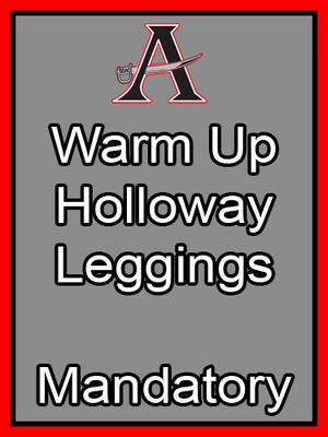 Warm Up Holloway Leggings Mandatory