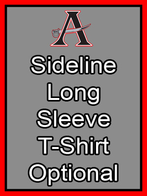 Sideline Long Sleeve T-Shirt Optional