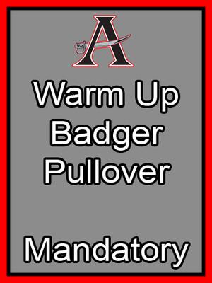 Warm Up Badger Pullover Mandatory