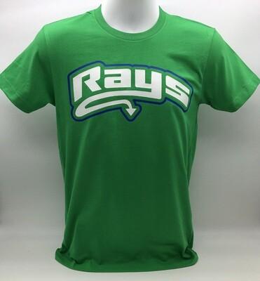 Rays Green Basic Tee