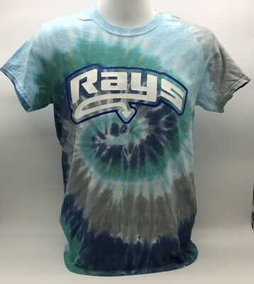 Rays Earth Tie Dye Tee