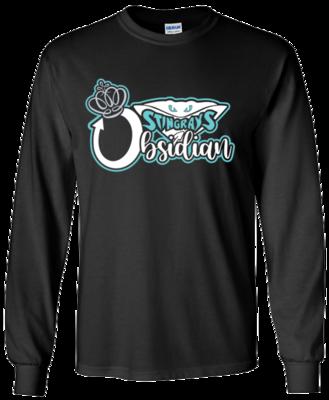 Gildan Long Sleeve (Obsidian)