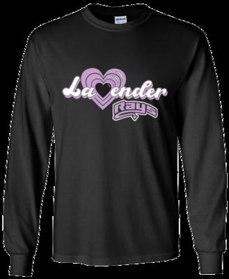Gildan Long Sleeve (Lavender)