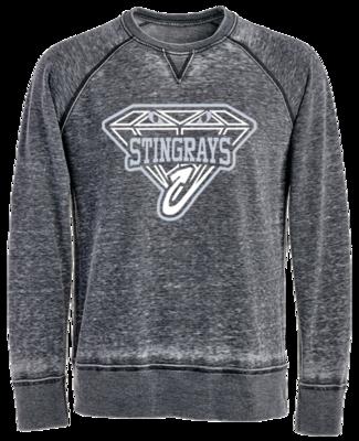 JA Vintage Crew Sweatshirt (Black Diamond)