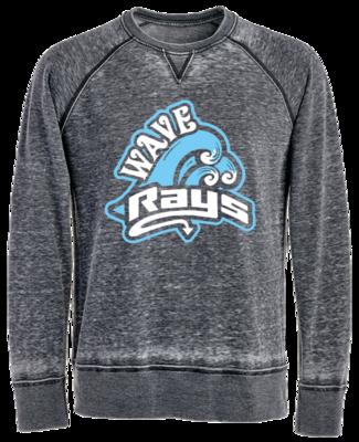 JA Vintage Crew Sweatshirt (Wave)
