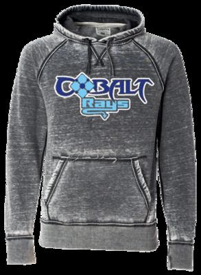 JA Vintage Zen Hoodie (Cobalt)
