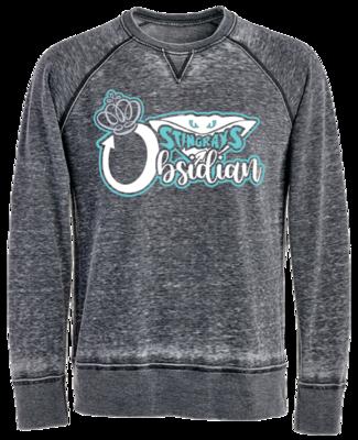 JA Vintage Crew Sweatshirt (Obsidian)
