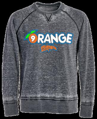 JA Vintage Crew Sweatshirt (Orange)