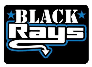 Black Team Hair Bows