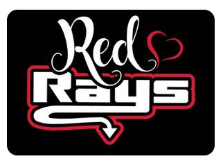 Red Team Hair Bows